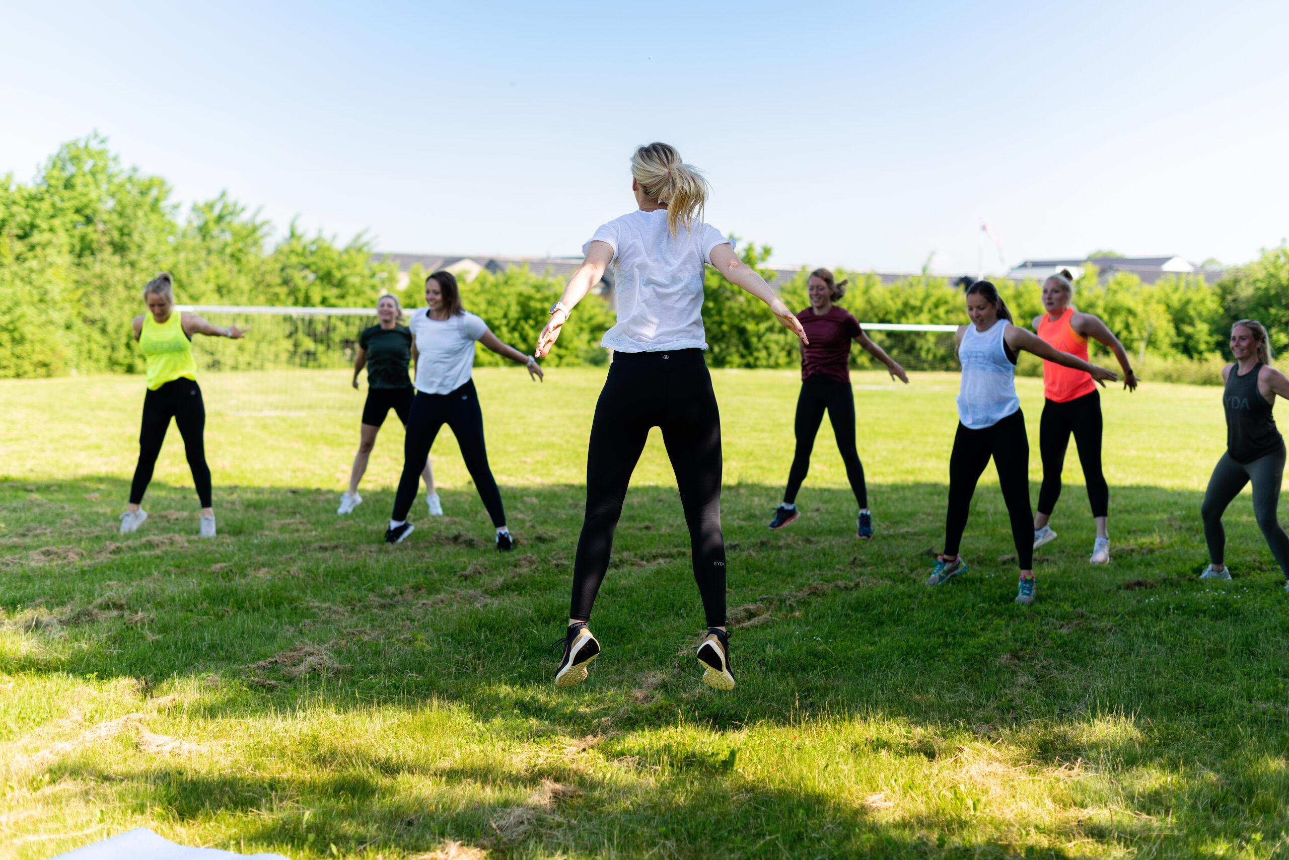 Træning for kvinder i Vejle
